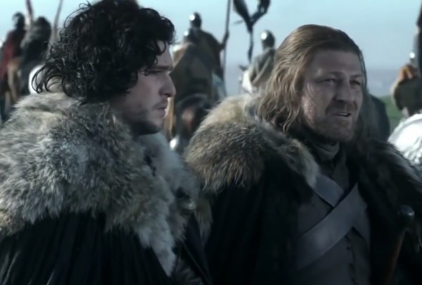 game-of-thrones-ned-stark-jon-snow-mother-talk