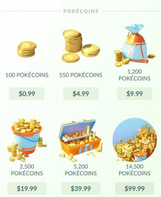 Pokecoins Go