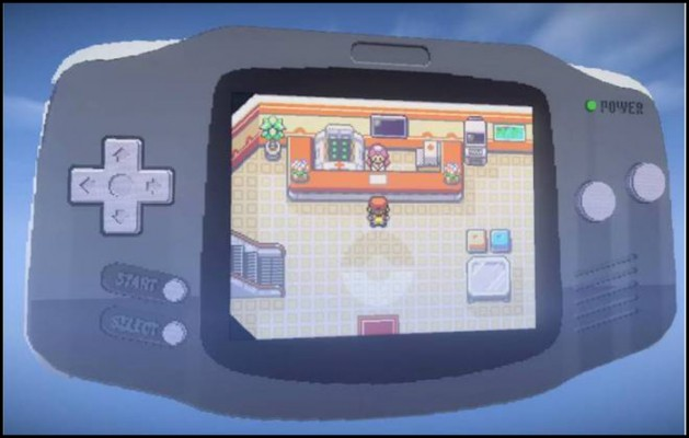 Virtual game Boy Minecraft