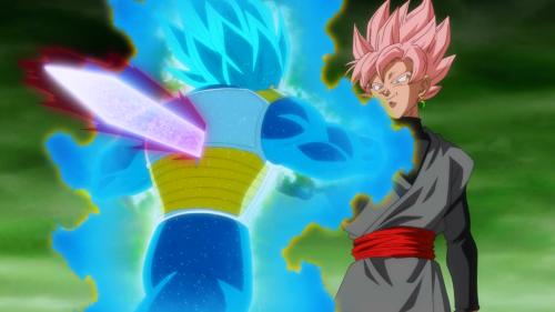 Goku Black Stab Vegeta