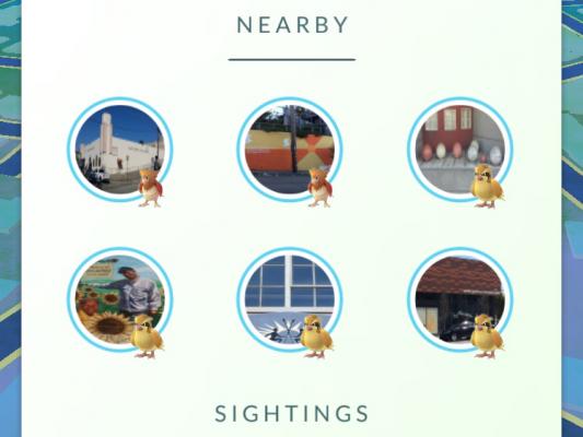 New Nearby Tracker