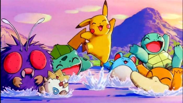 Pokémon feliz
