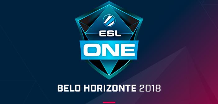 ESL ONE Belo Horizonte 2018 é anunciada