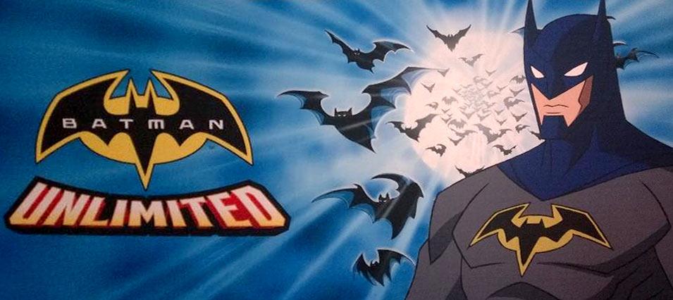 Warner bros e dc comics anunciam novos desenhos do batman