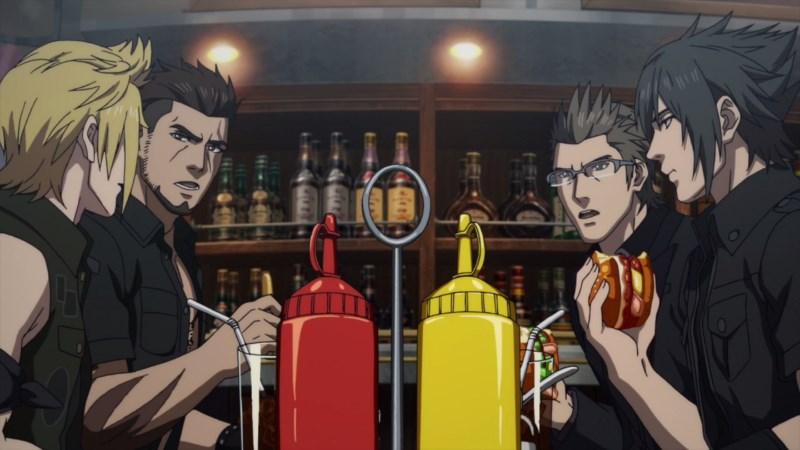 [7 Animes Indispensáveis] - Video Games - Era Moderna Parte 2 Brotherhood-ff-xv-anime-screengrab
