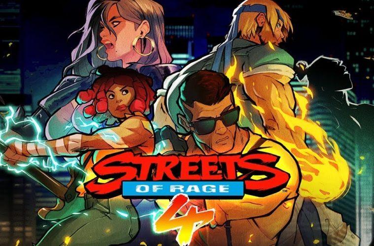 Sreets of Rage 4