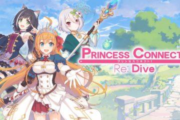"""A Crunchyroll Games, a divisão interativa da marca de animes mais popular do mundo, anuncia hoje o lançamento em inglês de """"Princess Connect! Re: Dive"""""""