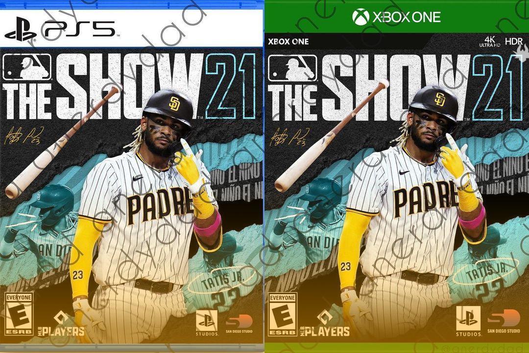 Suposta capa de MLB The Show para Xbox