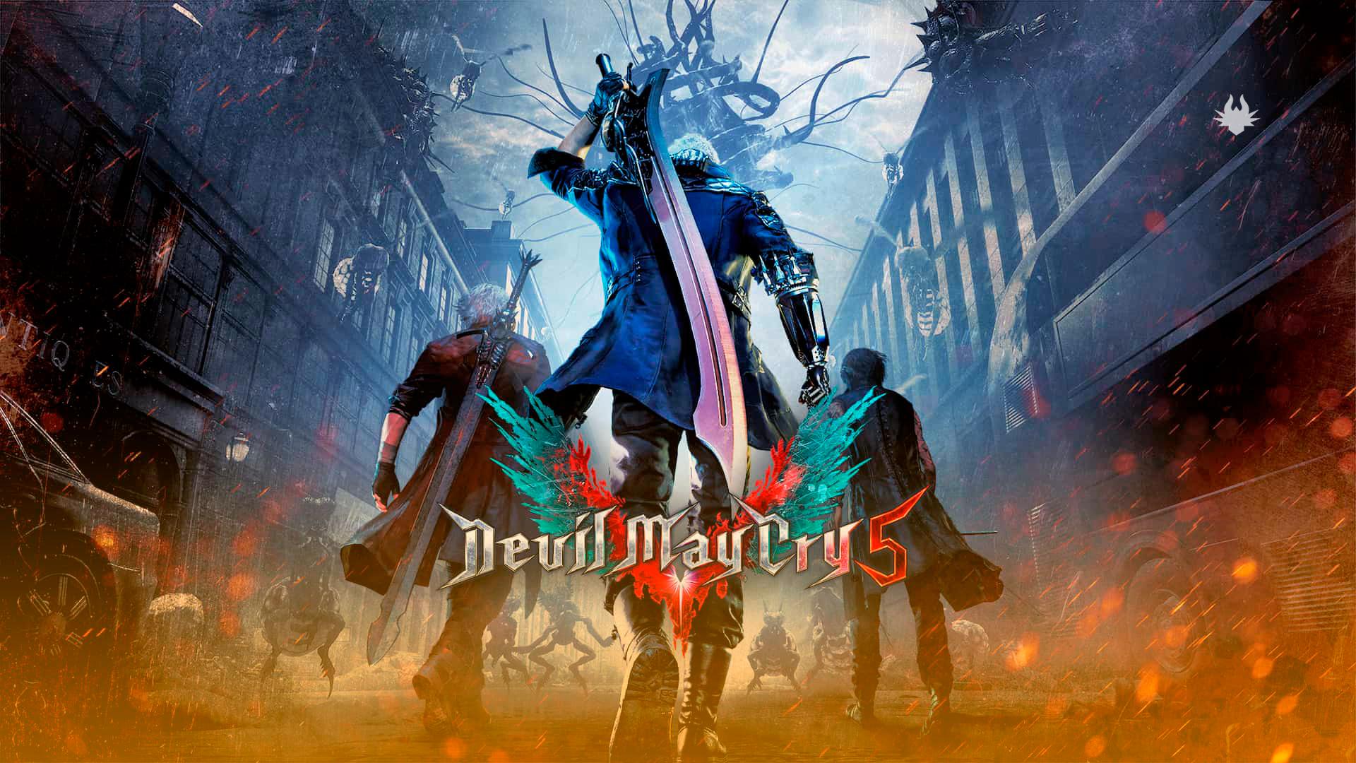 Capa de Devil May Cry 5. Fonte: Capcom / Divulgação