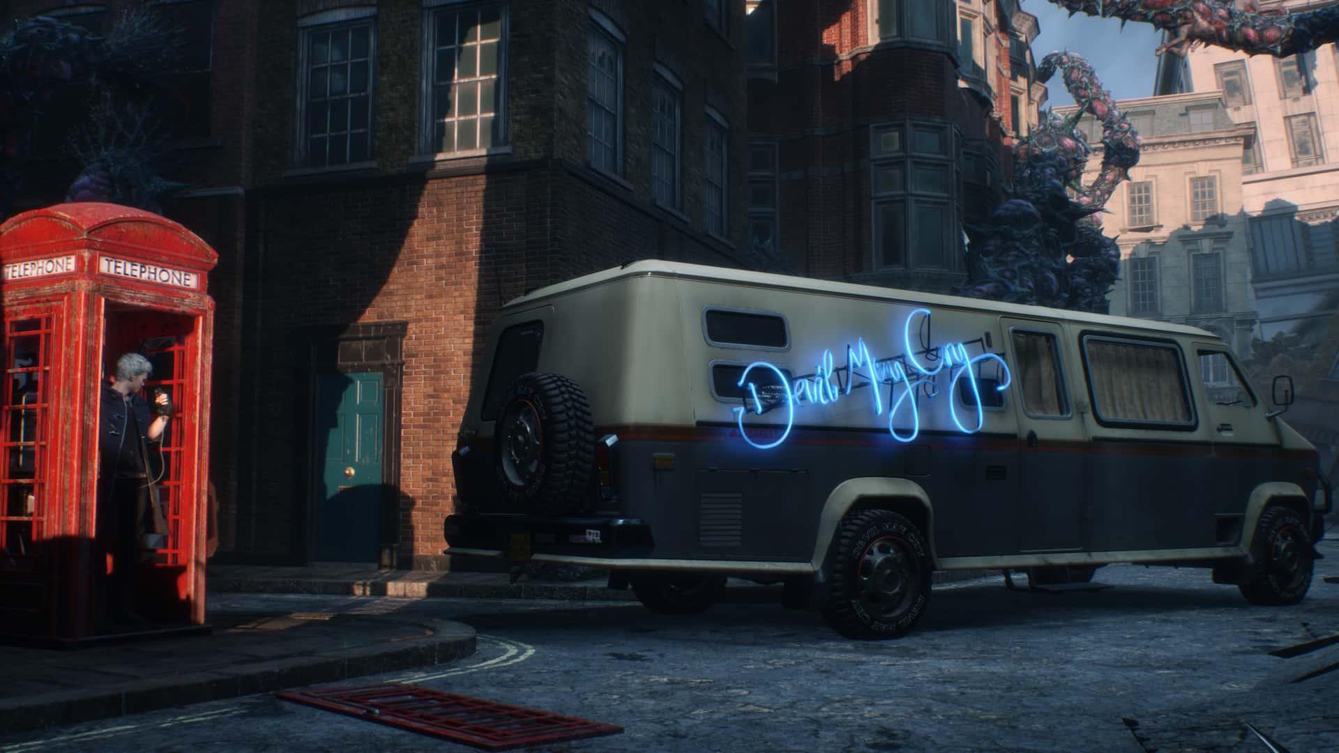 Van de Devil May Cry 5. Fonte: Capcom / Divulgação