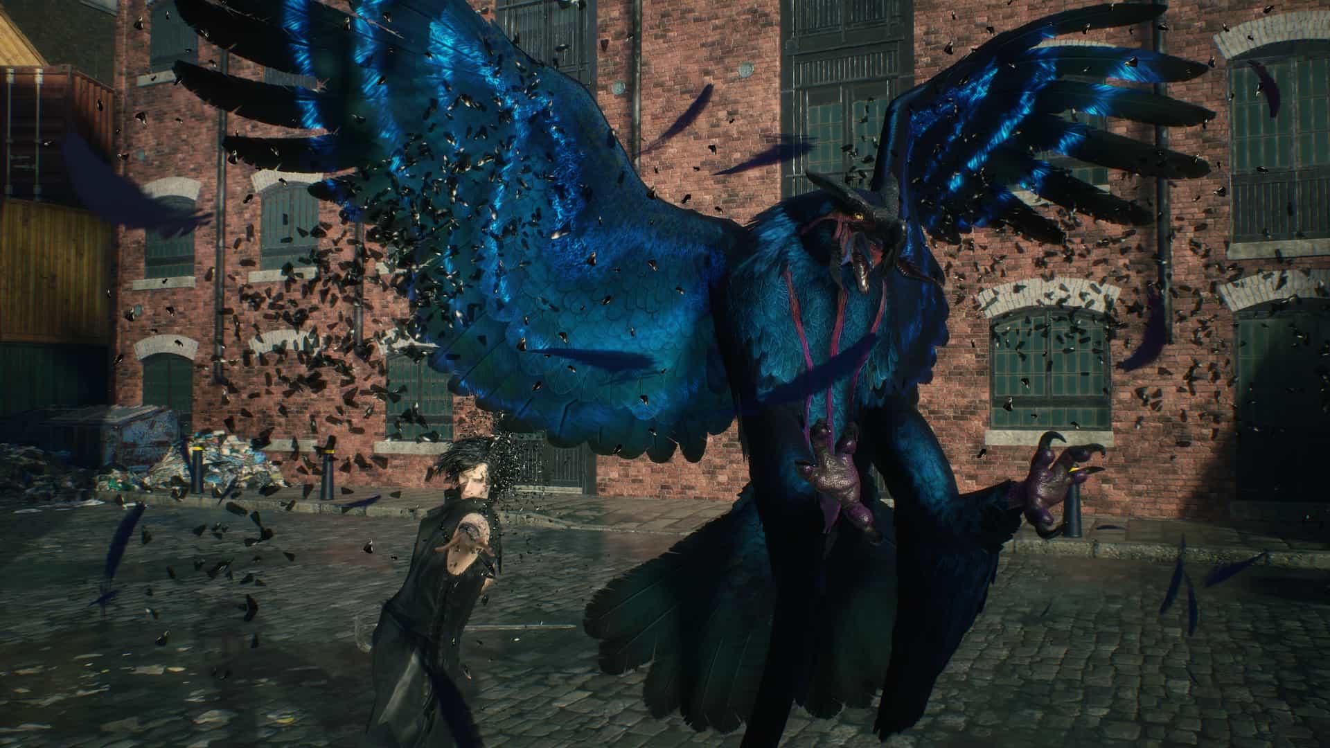 V lutando em Devil May Cry 5. Fonte: Capcom / Divulgação