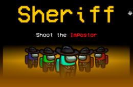 Mod de Among Us introduz classe de Xerifes
