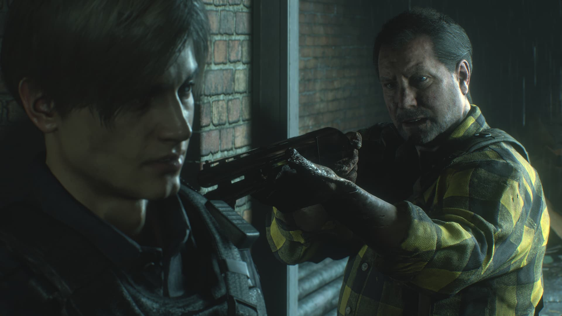 Robert Kendo em Resident Evil 2 Remake