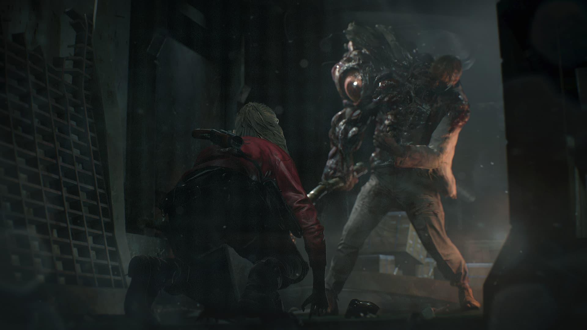 William Birkin em Resident Evil 2 Remake