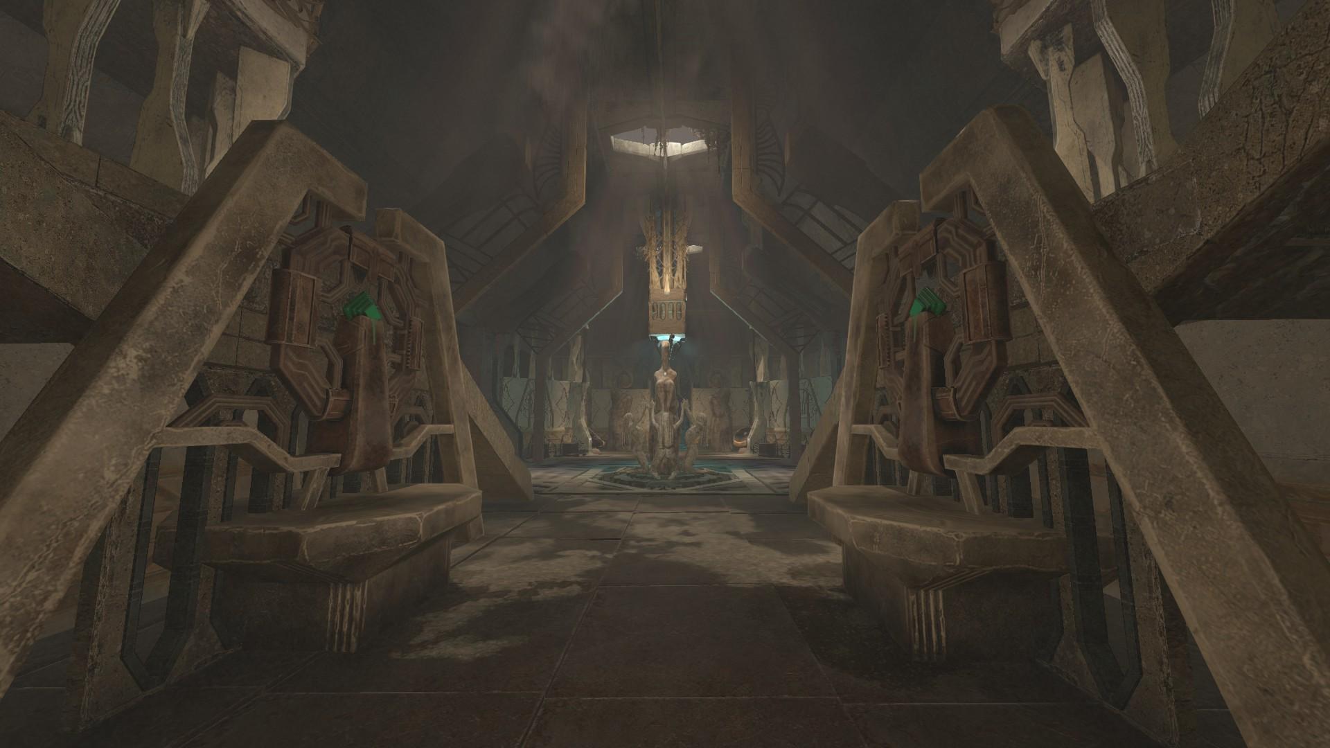 O jogo fica cada vez mais estranho com tecnologia alienígena, até se perder completamente no personagem.