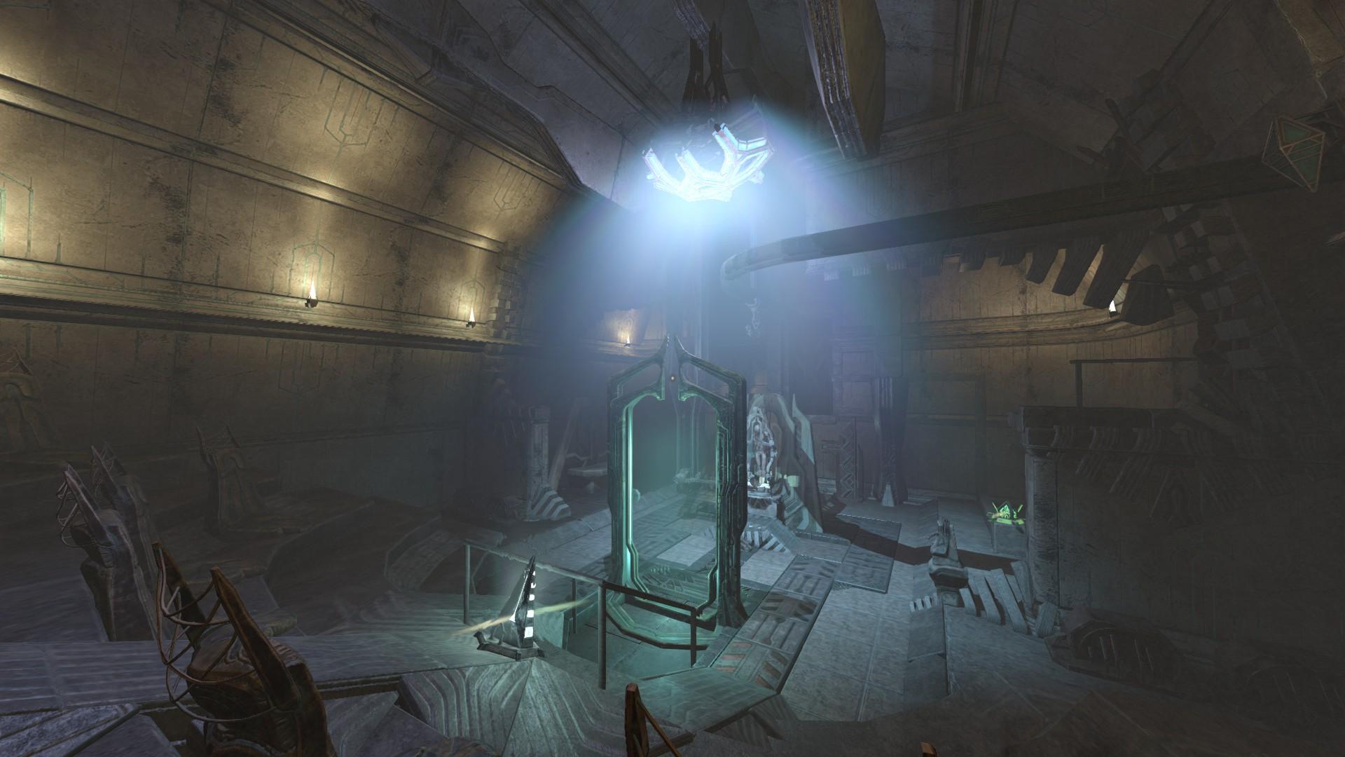 Universidade de medicina alienígena em Amnesia: Rebirth