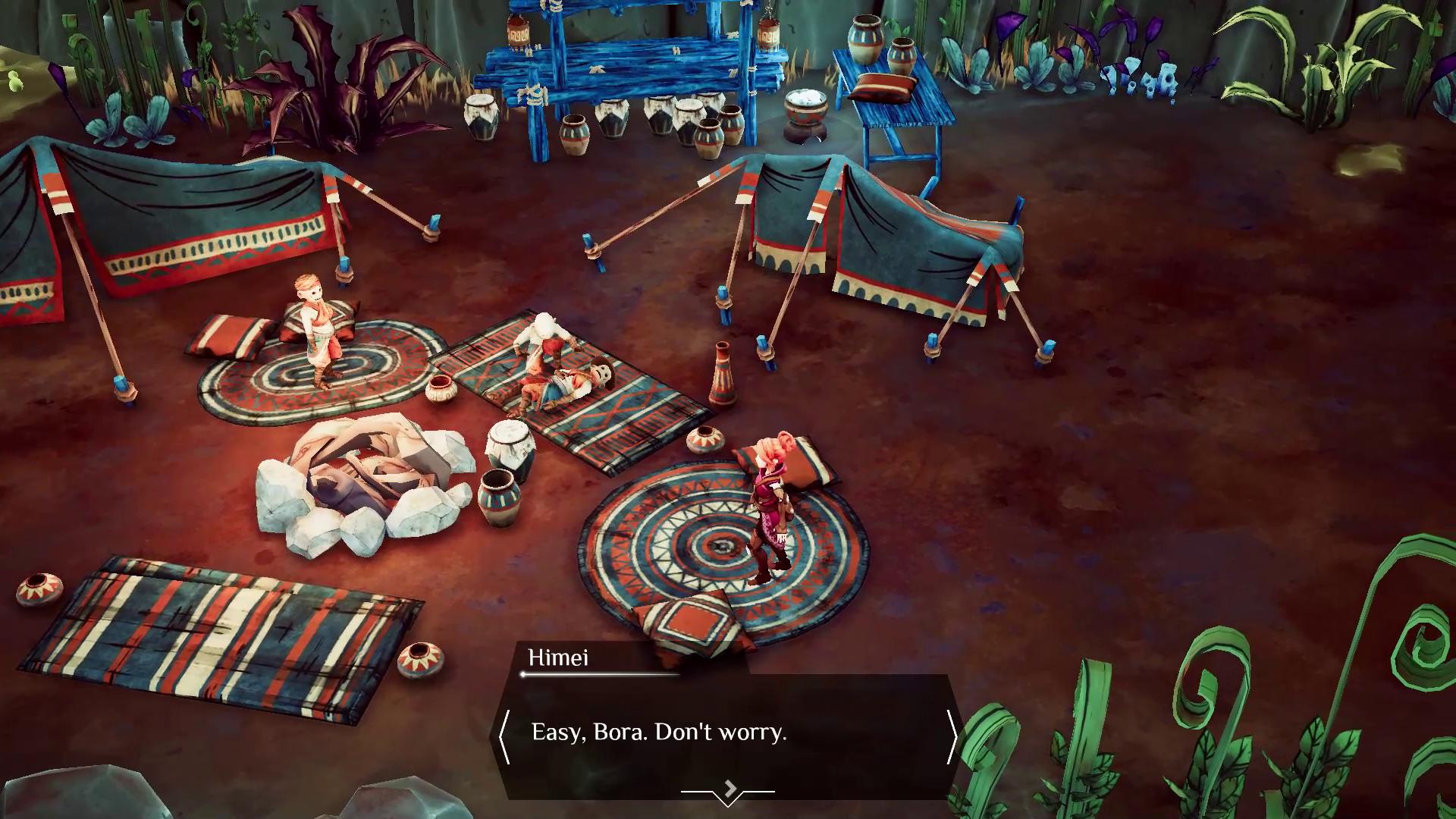 Por sorte, a direção de arte melhora drasticamente em partes posteriores do jogo. Fonte: Divulgação / Fishing Cactus