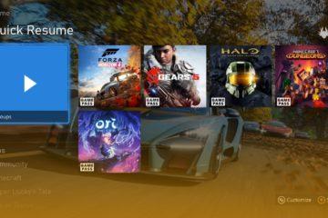 Atualização de maio Xbox
